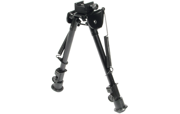 LEAPERS UTG TACTICAL OP BIPOD, RUBBER FEET