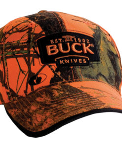 BUCK CAP MOSSY OAK BLAZE ORANGE