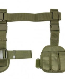DROP-LEG-HOlSTER-AND-MAG-POUCH-X4-GREEN-CV2908G-01