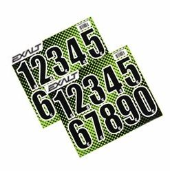 EXALT LOADER STICKER NUMBER SHEET - BLACK